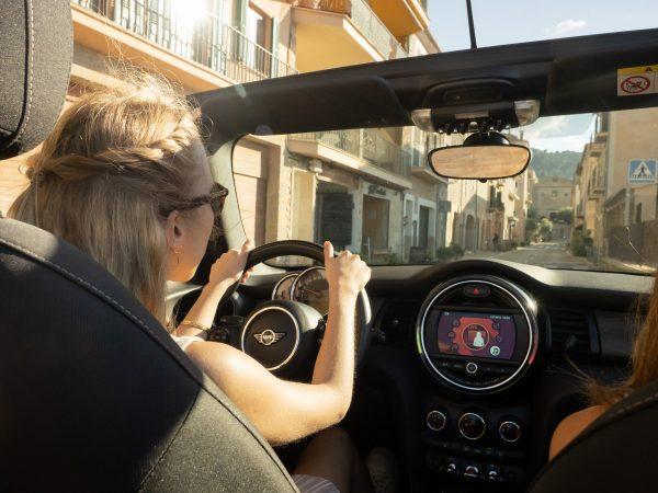 Mini cabrio alquiler de coches descapotables en Mallorca