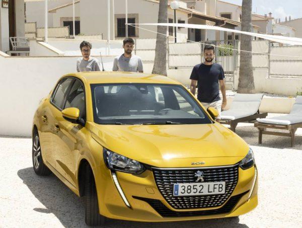 Alquiler coche barato en Mallorca- peugeot 208